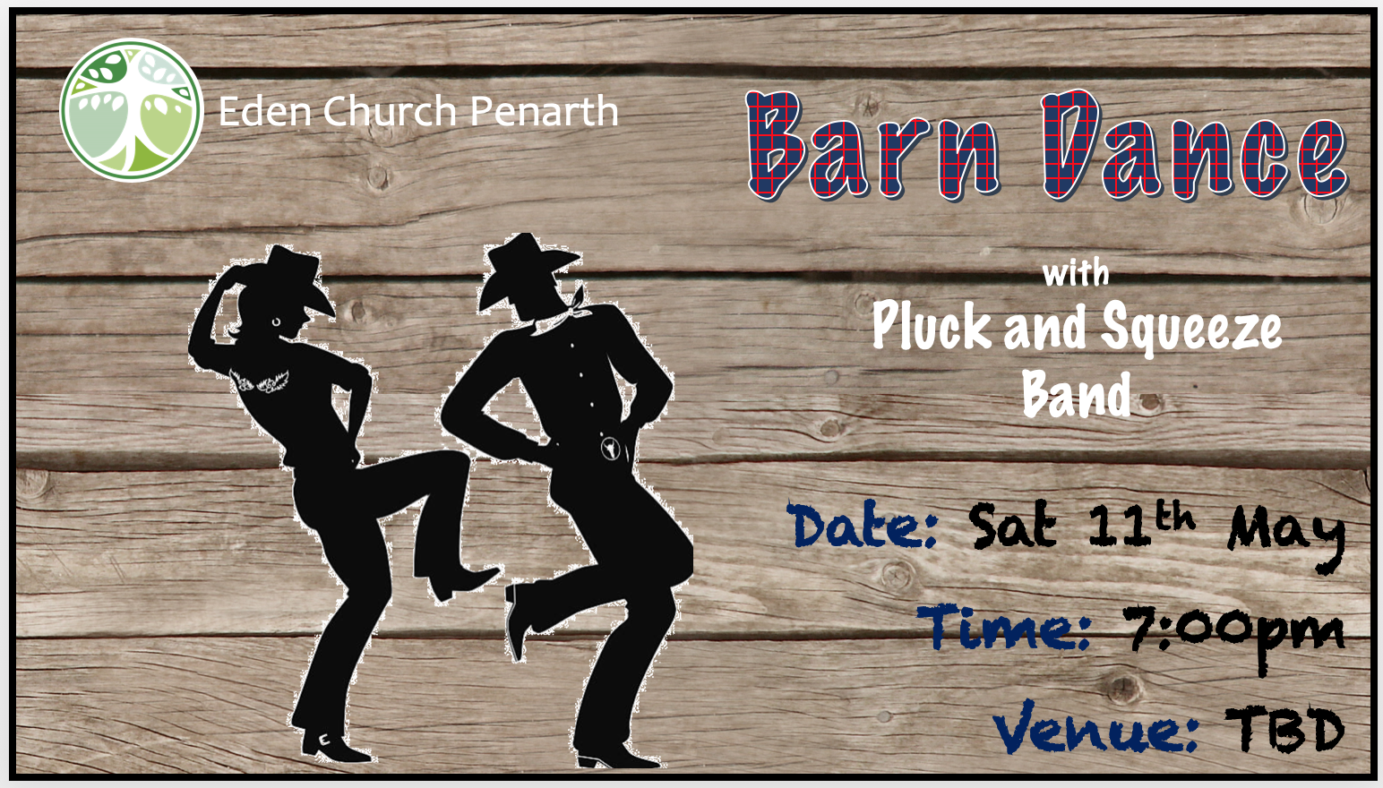 Barn Dance 11 May 7 pm